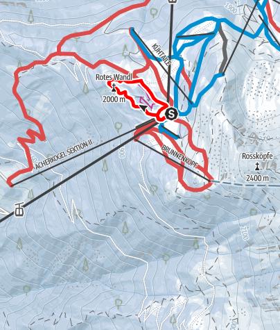 Karte / Rotes Wandl