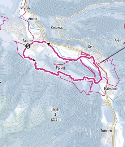 Map / Roundway Sautens