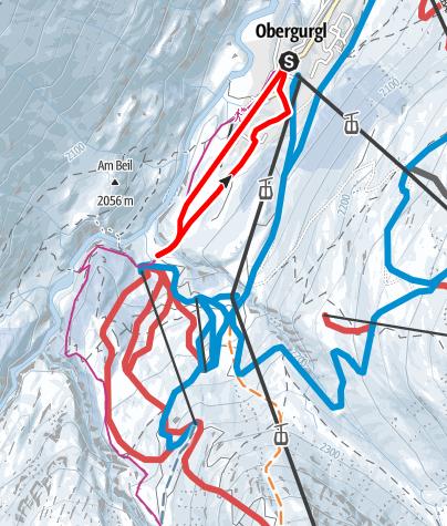 Map / Schönwieshütte