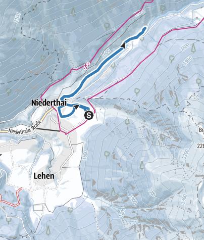 Map / Trail Horlachtal