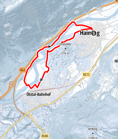 Map / Haiming - Schlierenzau - Haiming