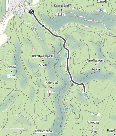 Térkép / Szilvásváradi erdei vasút