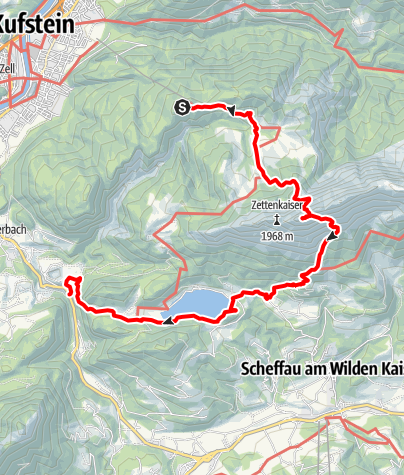 Map / Kaisertour 4. Tag