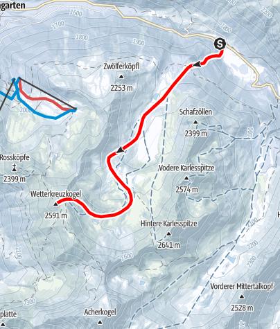 Karte / Wetterkreuz