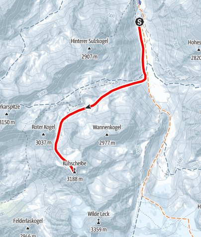 Karte / Kuhscheibe
