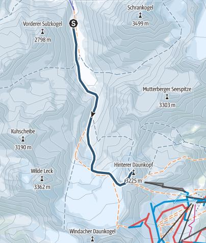 Map / Hinterer Daunkopf