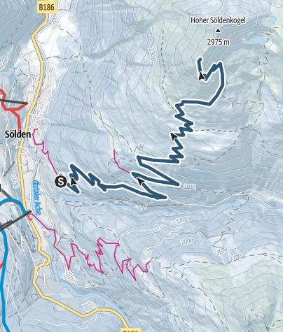Map / Söldenkogel - Sölden