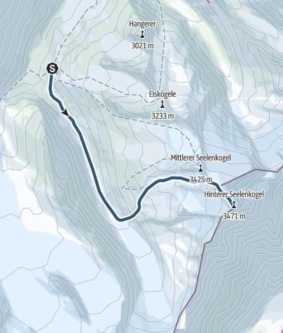 Map / Hinterer Seelenkogel