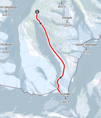 Karte / Hochwilde