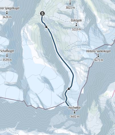Map / Hochwilde