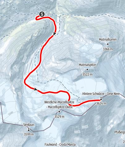 Map / Hintere Schwärze