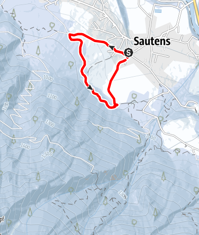 Karte / WIDI'S Zauberwald - Sautens