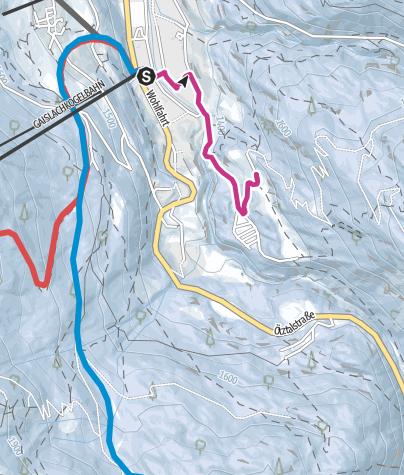 Map / Moosalm - Sölden