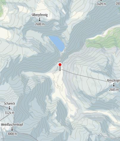 Karte / Valeriehaus 1.589m
