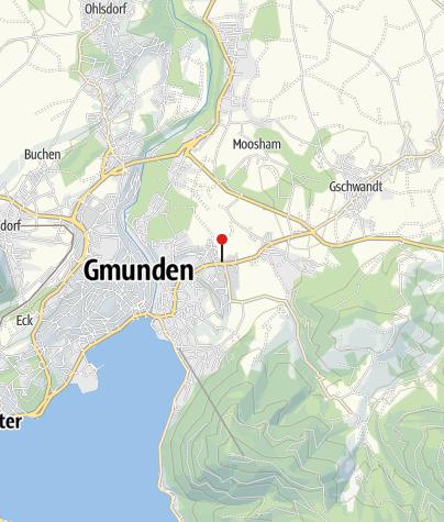 Karte / BewegungsVarena Gmunden - Technologiezentrum