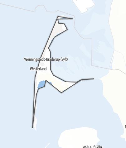 Karte / Insel Sylt
