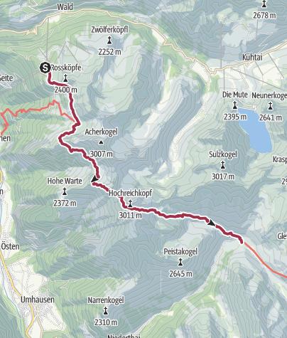 Map / Wilhelm-Oltrogge-Weg Hochoetz