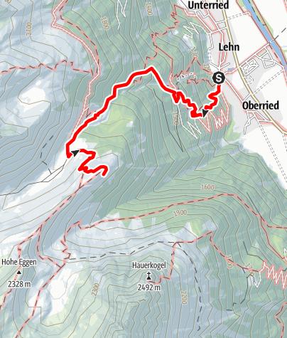 Karte / Wöckelwarte - Längenfeld