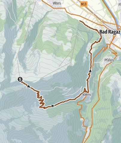 Map / Geissatraum Singletrail