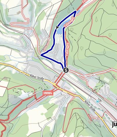 Karte / Kinderroute Jünkerath J1
