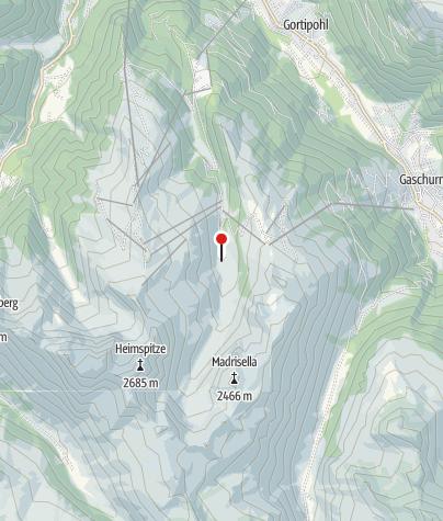 Karte / Alp Nova