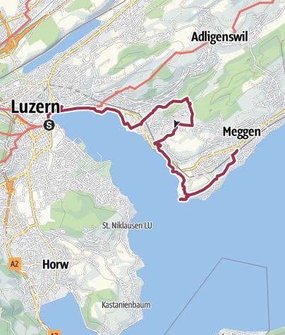 Carte / De Lucerne à Meggen en passant par Rio de Janeiro