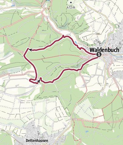 Karte / Drei Seen/ Drei Täler