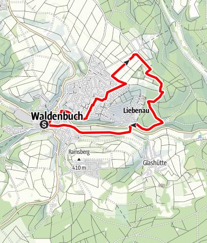 Karte / Gräfin-von-Mantua-Steig