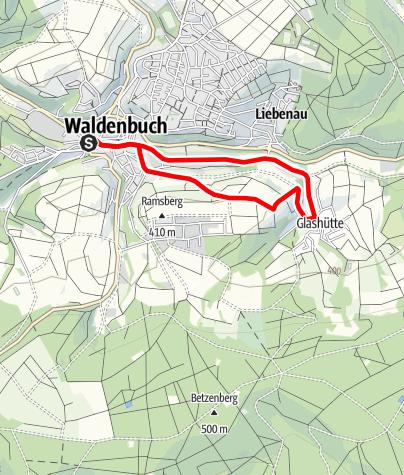 Karte / Panoramaweg Süd