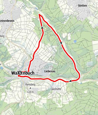Karte / Auszeitnehmen im Siebenmühlental