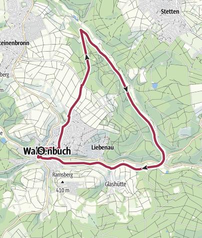 地图 / Auszeitnehmen im Siebenmühlental