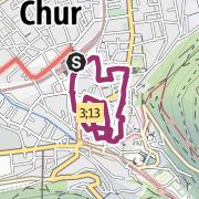 מפה / Chur Stadtwanderung