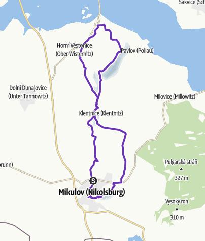 Map / Rock Point - Horská výzva 2019: Pálava - LONG