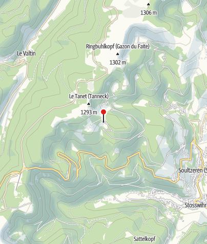 Karte / Auberge de Schantzwasen