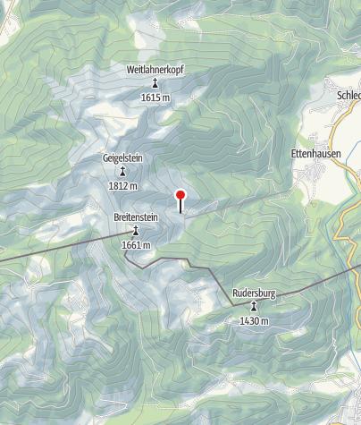 Karte / Wuhrsteinalm