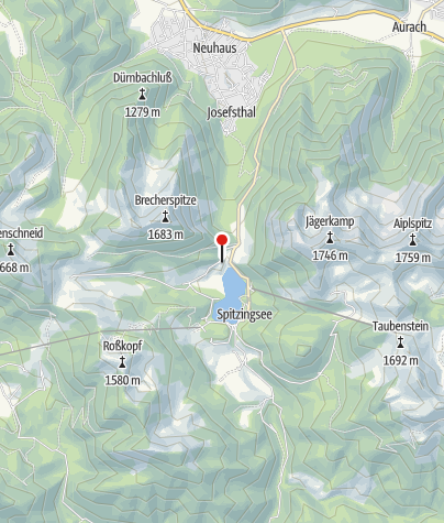 Karte / DAV-Haus Spitzingsee
