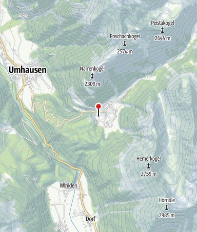 Karte / Hotel Tauferberg