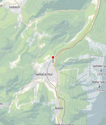 Karte / Bergresort Seefeld