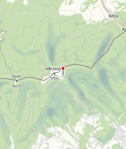 Karte / Holubyho chata