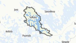 מפה / Sulkava