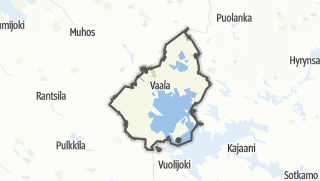 Cartina / Vaala