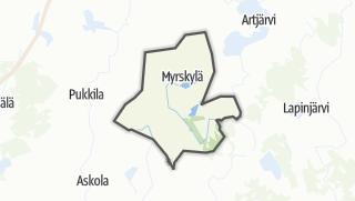 Karte / Mörskom