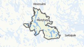 מפה / Mäntyharju