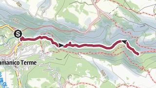 Cartina / Valle dell'Orfento - Massiccio della Majella