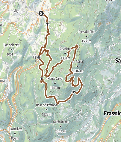 Map / Monte Calvo