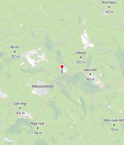 Térkép / Konkoly Thege Miklós Obszervatórium (Piszkéstető)