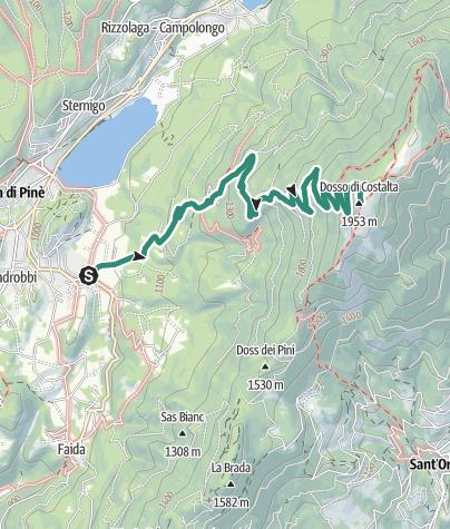 Map / To Dosso di Costalta