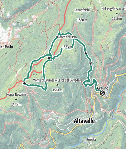 Map / Walk to lakelet Vedes