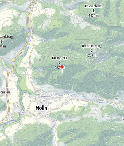 Karte / Mollnerhütte 1005m