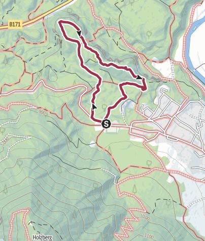 Map / Sautner Forchet Looptrail